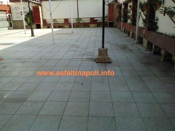 Pavimentazione terrazzi napoli srl - Pavimentazione cortile esterno ...